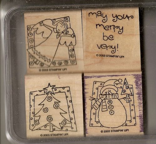 Stampin' Up Very Merry