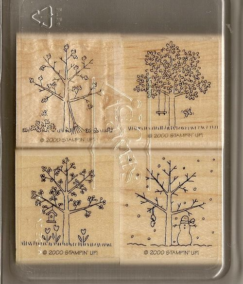 Stampin' Up A Tree for All Seasons