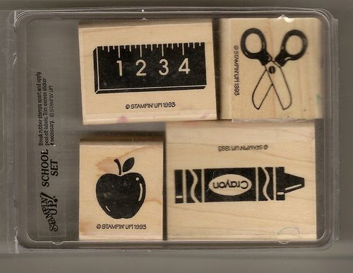 Stampin' Up School Set
