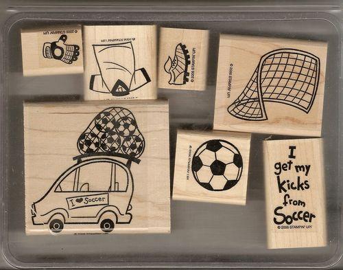 Stampin' Up I Love Soccer