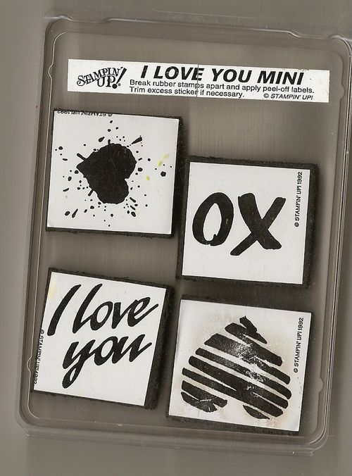 Stampin' Up I Love You Mini